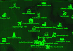 FO4 map Malden Middle
