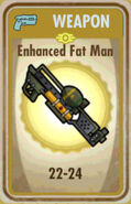 FoS Enhanced Fat Man Card