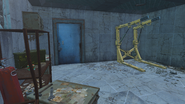 FO4 Cambridge Police station motor pool1