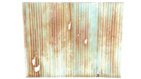 FO4 Shack Wall Metal Panels