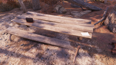 FO76 Middle Mountain Cabins (Brag's note)
