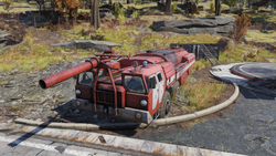 FO76 Morgantown Airport (Firetruck)