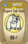 FoS Expert Lab Coat Card