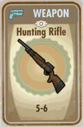 Fos Hunting Rifle Card