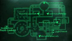 Level B sec badge map