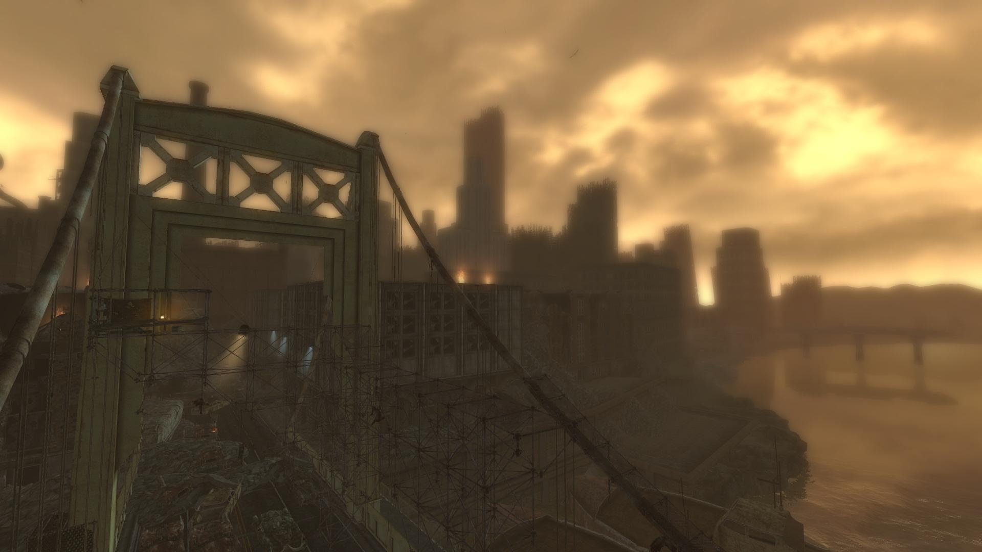 The Pitt from the Bridge