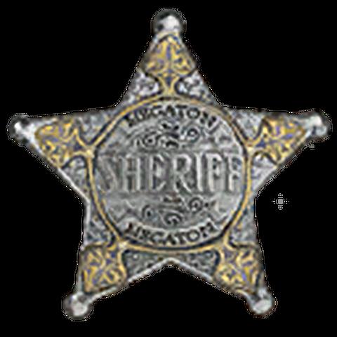 Значок шерифа Мегатонни