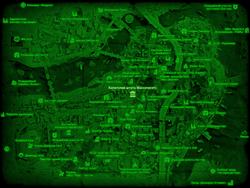 FO4 Капитолий штата Массачусетс (карта мира)