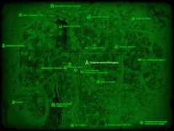 FO4 Средняя школа Мальдена (карта мира)