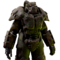 FO76 Atomic Shop - Plague rider power armor skin