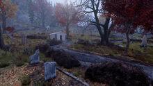 FO76 the Kanawha Church Cemetery