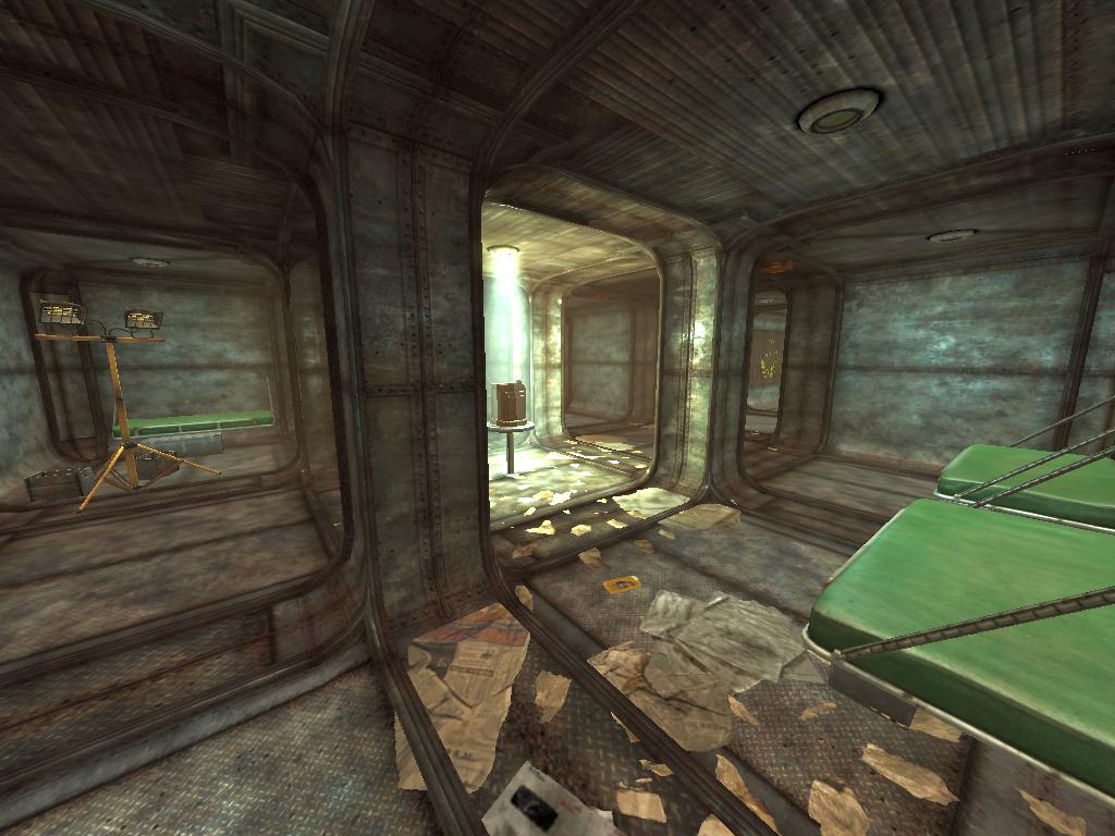 FONV Bunker 13 Bunk Room