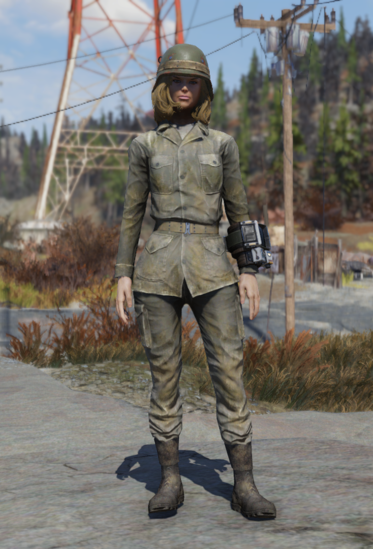 Army fatigues (Fallout 76) | Fallout Wiki | FANDOM powered by Wikia