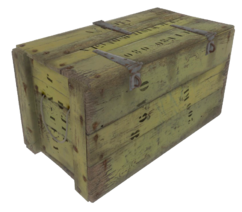 Fo4 wooden crate