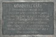 HopewellCavePlaque