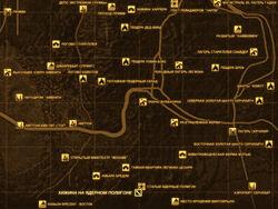 FNV Карта ХИЖИНА НА ЯДЕРНОМ ПОЛИГОНЕ