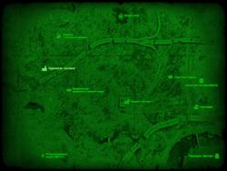 FO4 Одинокая часовня (карта мира)