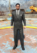 FO4 Clean black suit