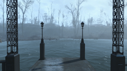 FO4 Taffington Boathouse pier