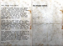 FO76 Message de la citoyenne vigilante au shérif Darcy