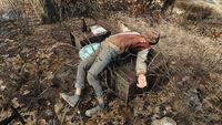 Hunter's corpse