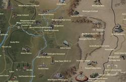 North Cutthroat Camp map