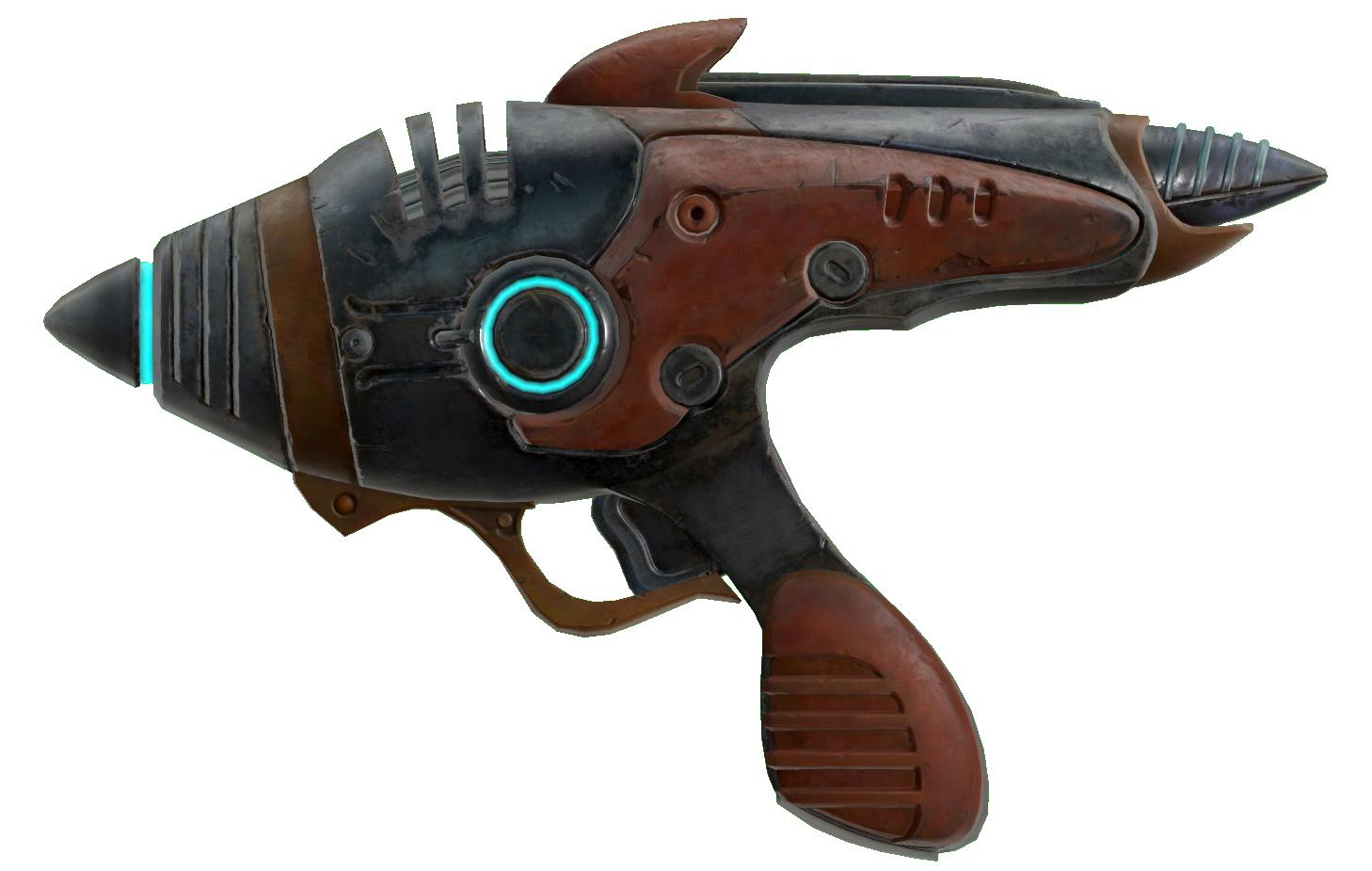 Alien blaster pistol   Fallout Wiki   FANDOM powered by Wikia