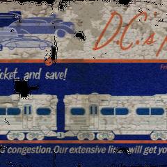 Реклама послуг метрополітену