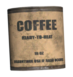 FO76 Canned coffee