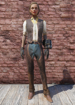 FO76 Western Outfit & Chaps