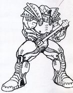 Fallout 1 Concept Art - Powered Armor
