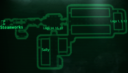 Holding Cells map
