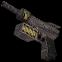 Laser pistol inventory