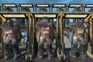 Raider power armor line