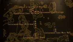 Cottonwood Cove map