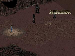 FO2 Random Enclave patrol suicide part 1