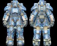 FO4CC T-45 power armor aquatic camo