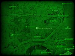 FO4 Свалка братьев Джалбертов (карта мира)