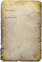 FO4 Dr. Forsythe's Note Page 2
