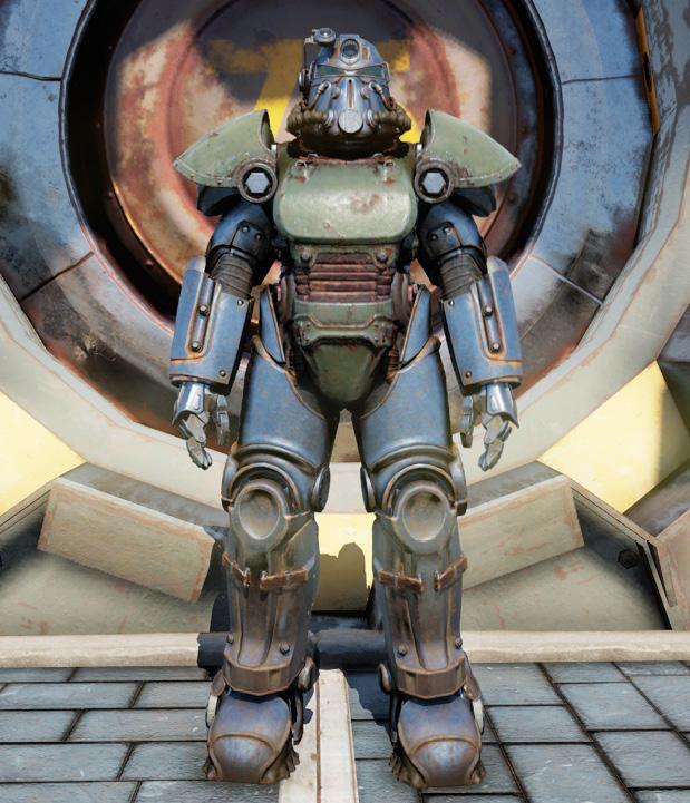 T-51 power armor (Fallout 76) | Fallout Wiki | FANDOM ...