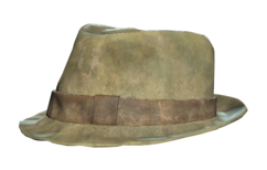 FO76 Trilby hat