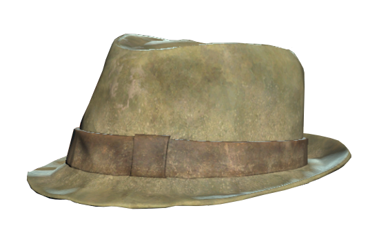 5122f81dd61 Trilby hat (Fallout 76)