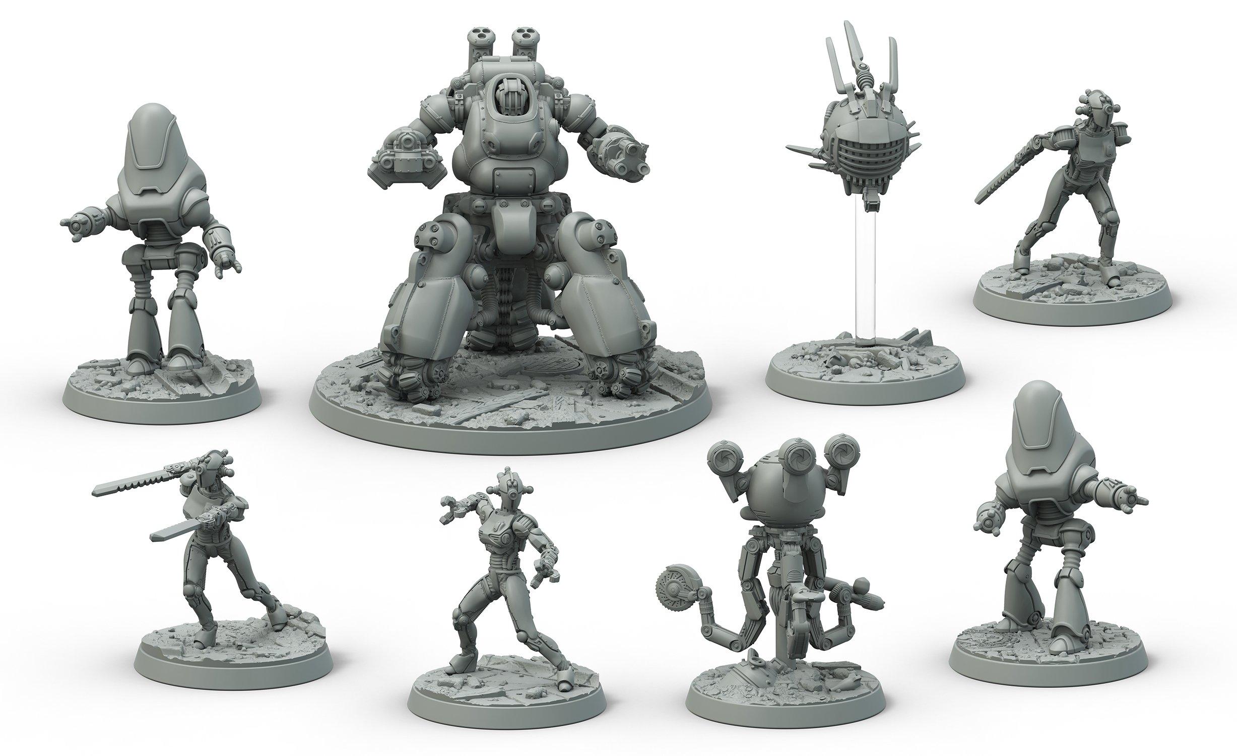 FO Store Wasteland Robot Set 1