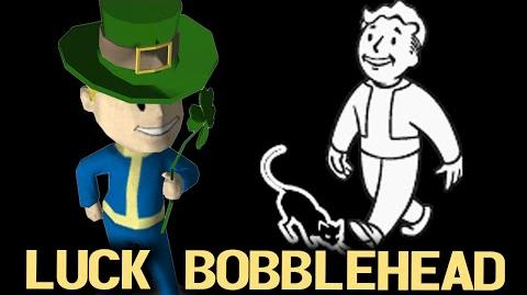 Fallout 3 Bobblehead -Luck-