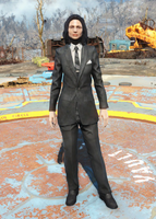Fo4Clean Black Suit
