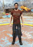 Red Nuka-Cola t-shirt male