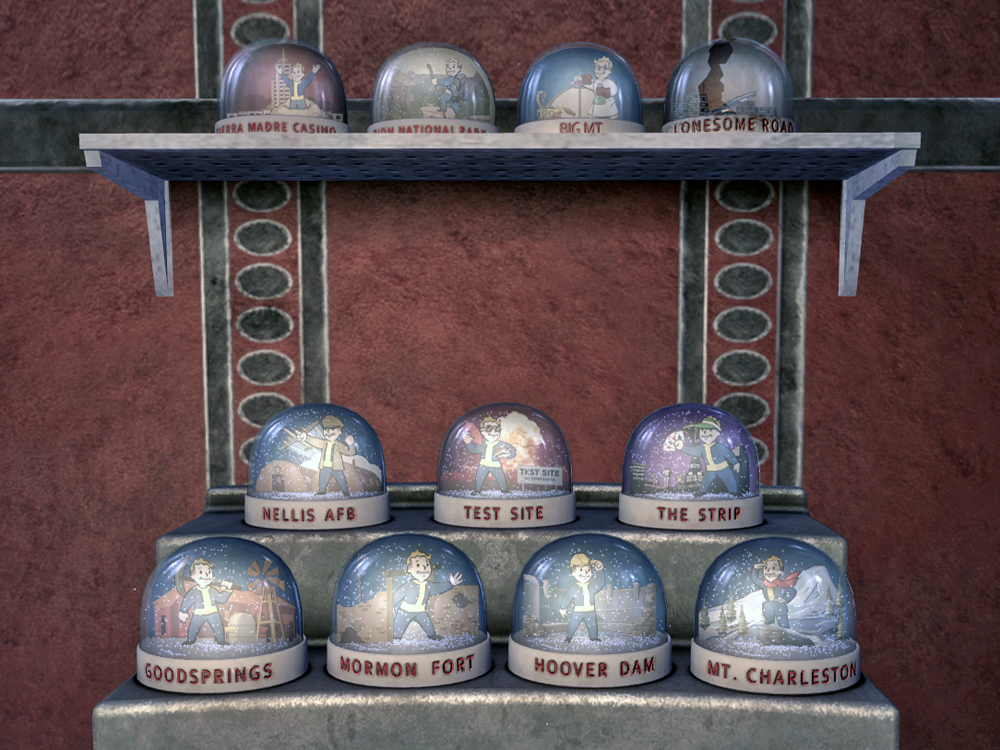 Snow globe fallout wiki fandom powered by wikia snow globes fnv gumiabroncs Images