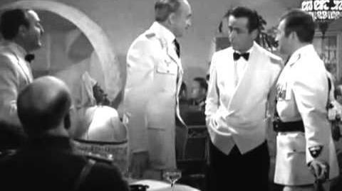 Casablanca I'm a drunkard