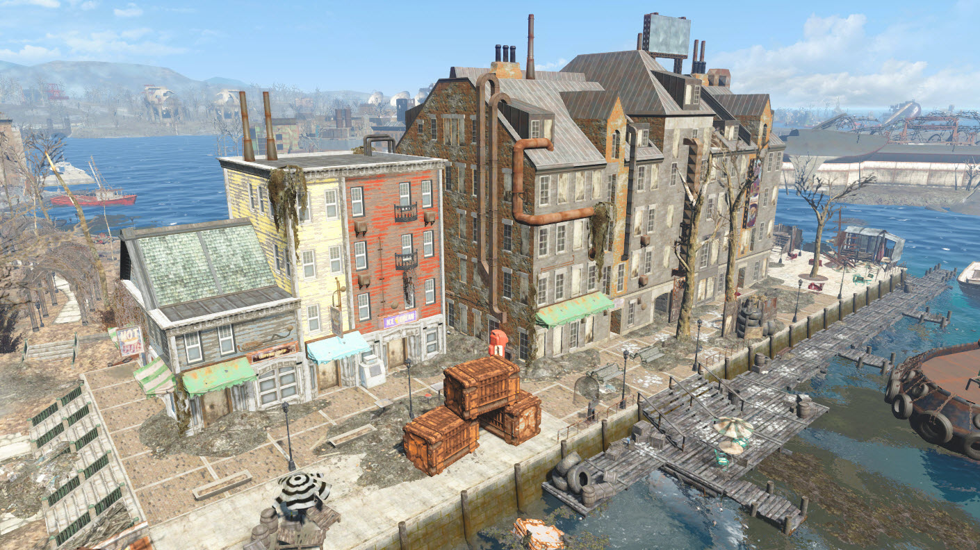 Long wharf fallout wiki fandom powered by wikia for Sala wharf 73