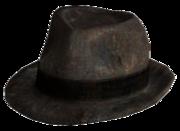 Stylish gambler hat